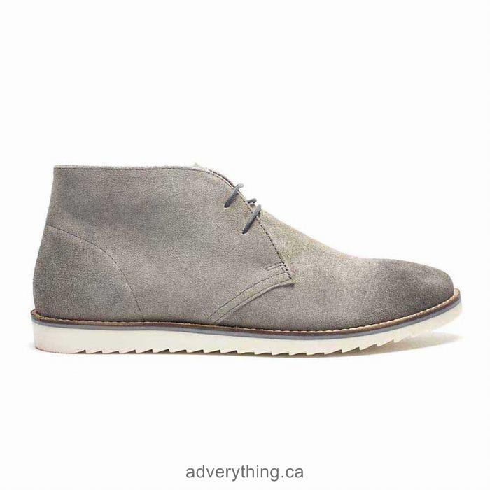 Exclusive sale Crevo Alameda Leather Mens Boots Grey