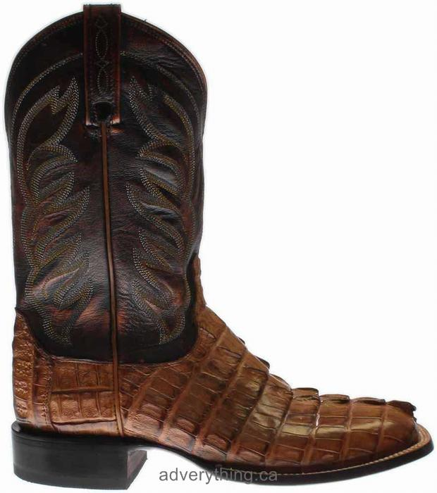 Exclusive sale Lucchese Landon Leather Mens Boots Tan