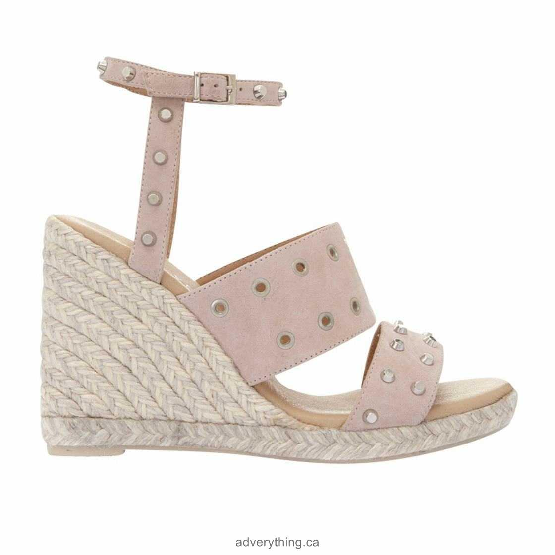 Cut down price Mint Velvet Steph Wedge Heeled Sandals, Nude - Women's Sandals